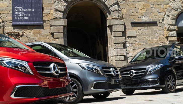 Prova Mercedes Classe V 2019, tutti i segreti del luxury van - Foto 4 di 42