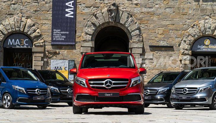 Prova Mercedes Classe V 2019, tutti i segreti del luxury van - Foto 6 di 42