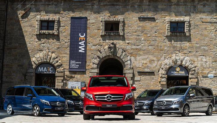 Prova Mercedes Classe V 2019, tutti i segreti del luxury van - Foto 7 di 42