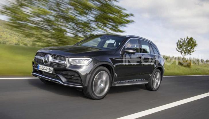 Mercedes GLC 2019: nuovi motori e più tecnologia per il SUV tedesco - Foto 3 di 6