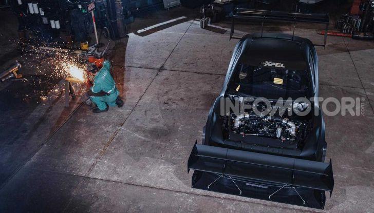 Nissan GT-R da 2.000 CV per le gare in salita - Foto 11 di 13