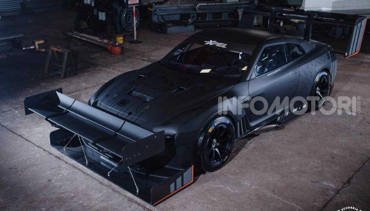 Nissan GT-R da 2.000 CV per le gare in salita - Foto 13 di 13