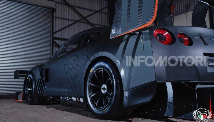 Nissan GT-R da 2.000 CV per le gare in salita - Foto 5 di 13