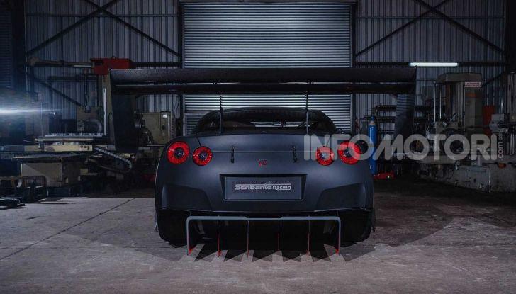 Nissan GT-R da 2.000 CV per le gare in salita - Foto 7 di 13