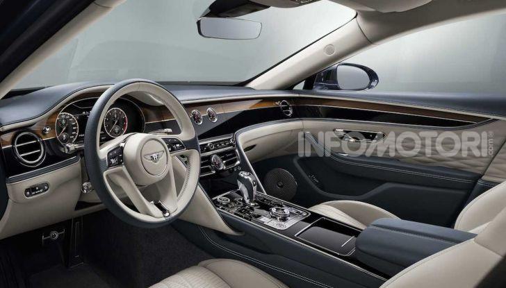 Nuova Bentley Flying Spur 2019: dati e prestazioni - Foto 16 di 23