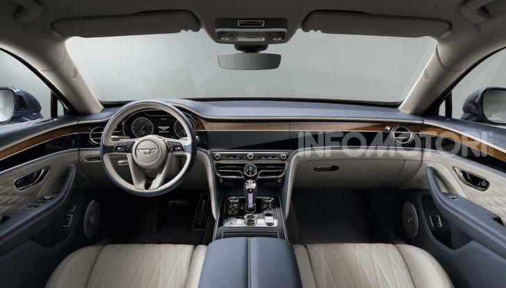 Nuova Bentley Flying Spur 2019: dati e prestazioni - Foto 17 di 23