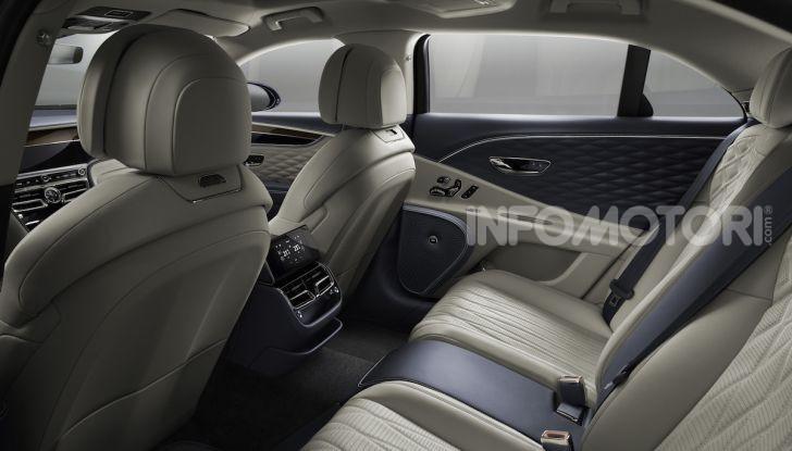 Nuova Bentley Flying Spur 2019: dati e prestazioni - Foto 19 di 23