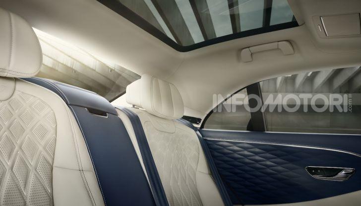 Nuova Bentley Flying Spur 2019: dati e prestazioni - Foto 3 di 23