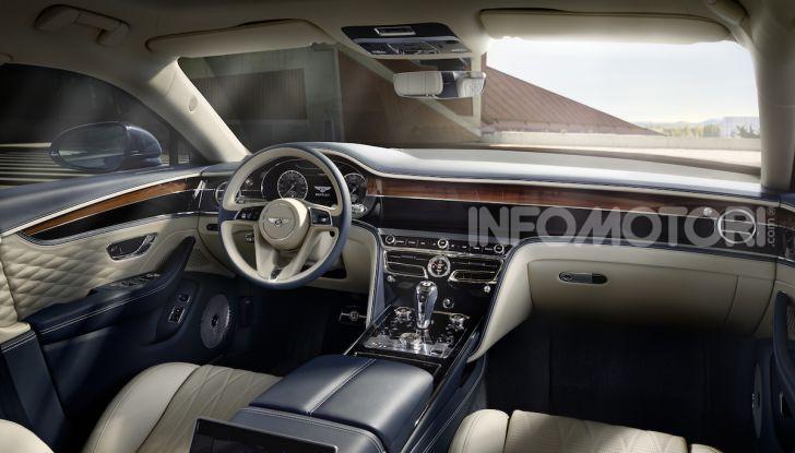 Nuova Bentley Flying Spur 2019: dati e prestazioni - Foto 8 di 23