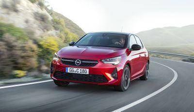 Nuova Opel Corsa 2019, motori e prezzi