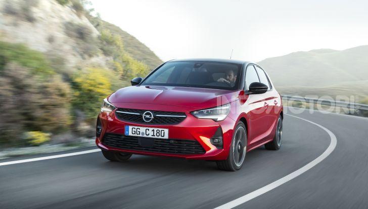 Nuova Opel Corsa 2019, motori e prezzi - Foto 1 di 7