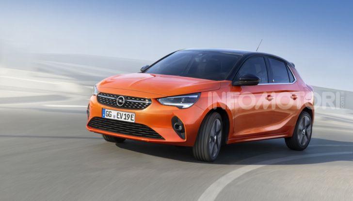 Opel Corsa elettrica 2019 prezzo e dati tecnici della Corsa-e - Foto 1 di 25