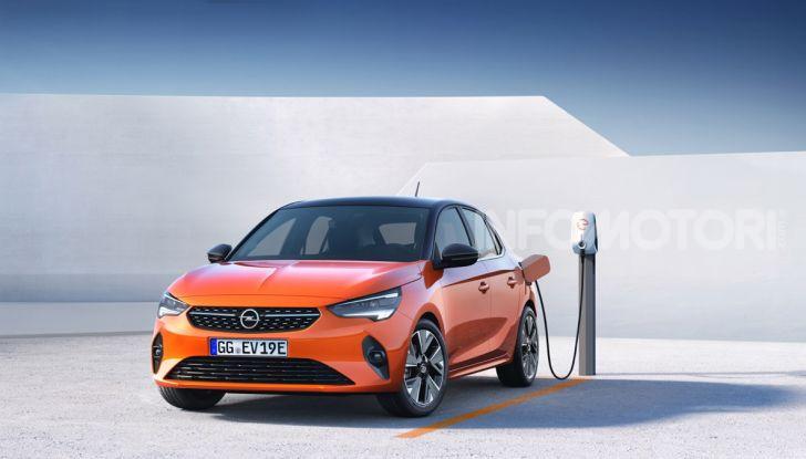 Opel Corsa elettrica 2019 prezzo e dati tecnici della Corsa-e - Foto 10 di 25