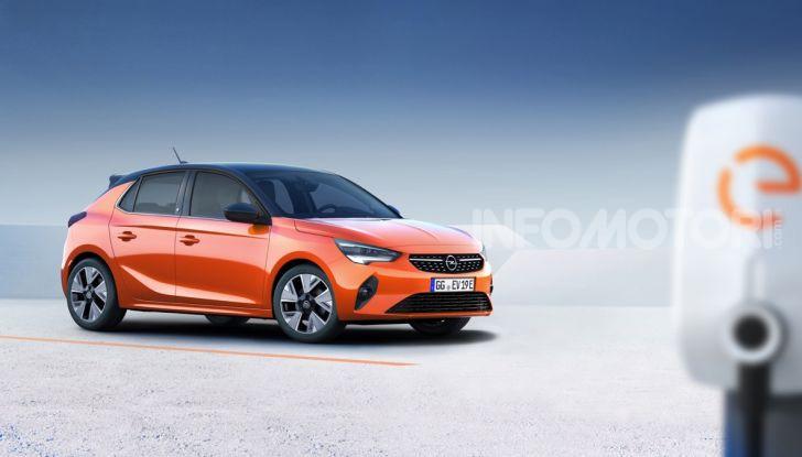 Opel Corsa elettrica 2019 prezzo e dati tecnici della Corsa-e - Foto 11 di 25