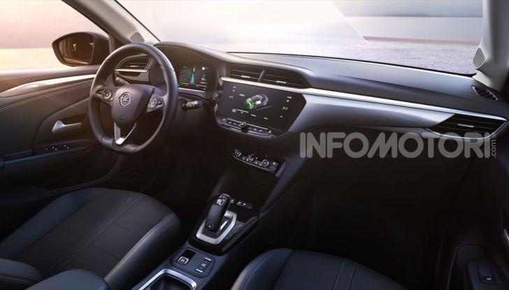 Opel Corsa elettrica 2019 prezzo e dati tecnici della Corsa-e - Foto 19 di 26