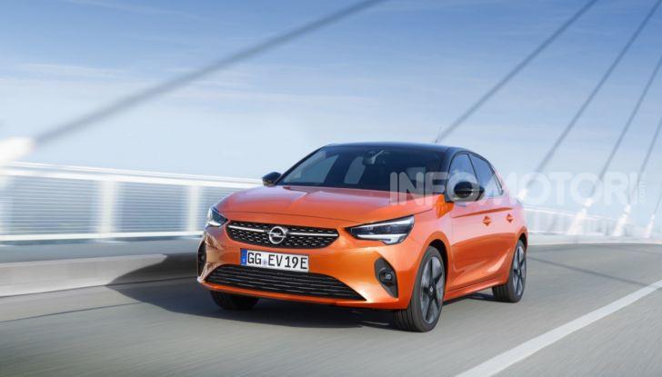 Opel Corsa elettrica 2019 prezzo e dati tecnici della Corsa-e - Foto 2 di 25