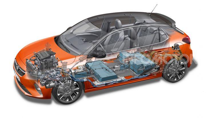 Opel Corsa elettrica 2019 prezzo e dati tecnici della Corsa-e - Foto 22 di 26