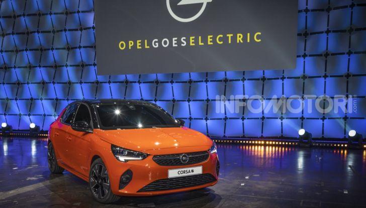 Opel Corsa elettrica 2019 prezzo e dati tecnici della Corsa-e - Foto 26 di 26