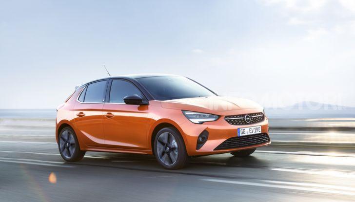 Opel Corsa elettrica 2019 prezzo e dati tecnici della Corsa-e - Foto 3 di 25
