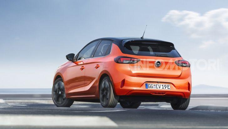 Opel Corsa elettrica 2019 prezzo e dati tecnici della Corsa-e - Foto 5 di 26
