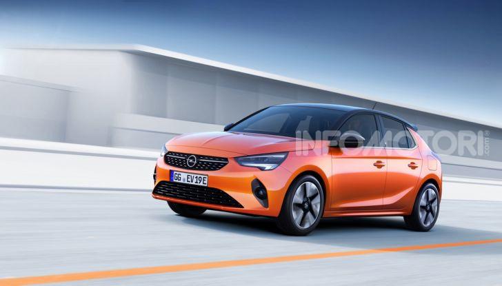 Opel Corsa elettrica 2019 prezzo e dati tecnici della Corsa-e - Foto 6 di 26