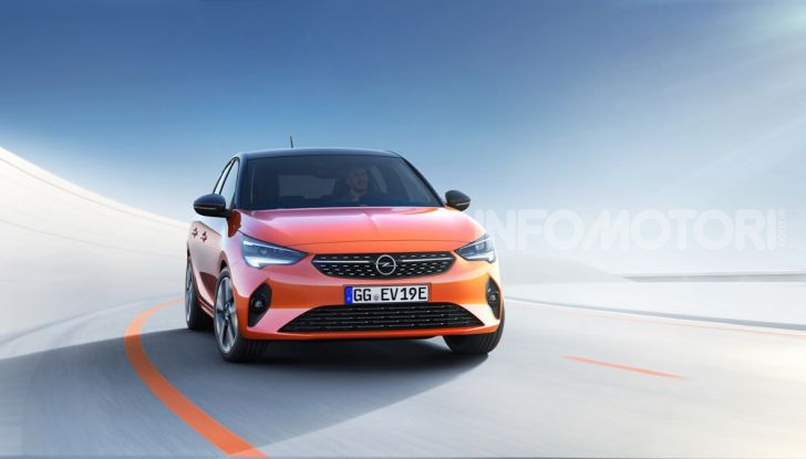 Opel Corsa elettrica 2019 prezzo e dati tecnici della Corsa-e - Foto 6 di 25