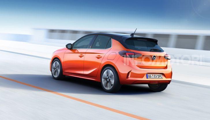 Opel Corsa elettrica 2019 prezzo e dati tecnici della Corsa-e - Foto 8 di 26