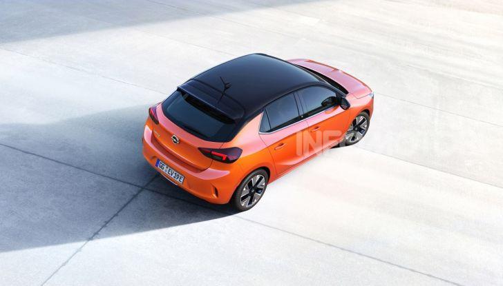 Opel Corsa elettrica 2019 prezzo e dati tecnici della Corsa-e - Foto 8 di 25