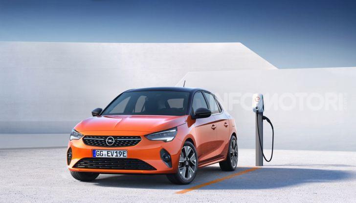 Opel Corsa elettrica 2019 prezzo e dati tecnici della Corsa-e - Foto 10 di 26