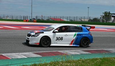 La Nuova PEUGEOT 308 TCR debutta in Italia il 6 luglio all'autodromo di Adria