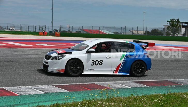 La Nuova PEUGEOT 308 TCR debutta in Italia il 6 luglio all'autodromo di Adria - Foto 1 di 8