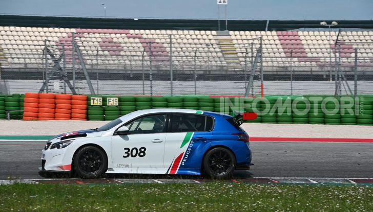 La Nuova PEUGEOT 308 TCR debutta in Italia il 6 luglio all'autodromo di Adria - Foto 6 di 8