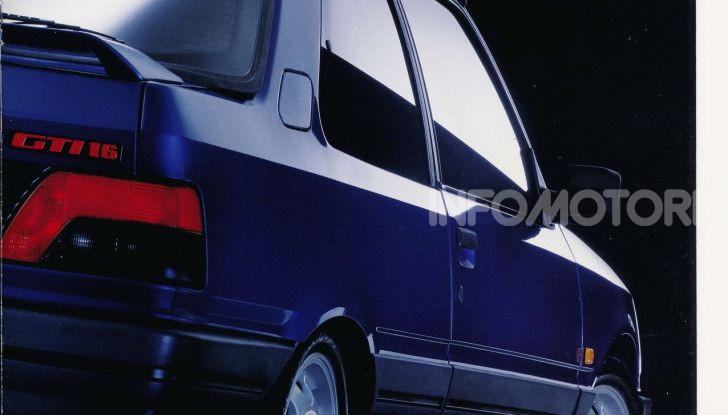 PEUGEOT 309 GTI16, 160 cavalli da corsa - Foto 10 di 11