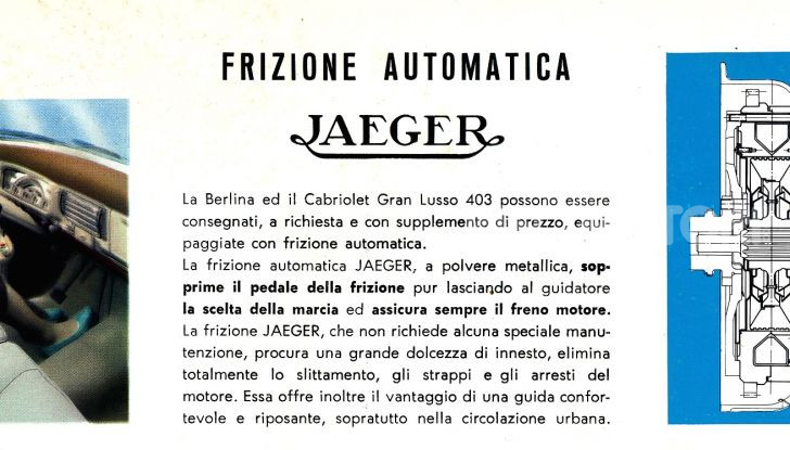 PEUGEOT 403 con cambio automatico JAEGER - Foto 3 di 5