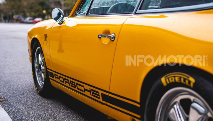 Porsche 911 S 2.7 del 1967 si veste da Bumblebee - Foto 22 di 26