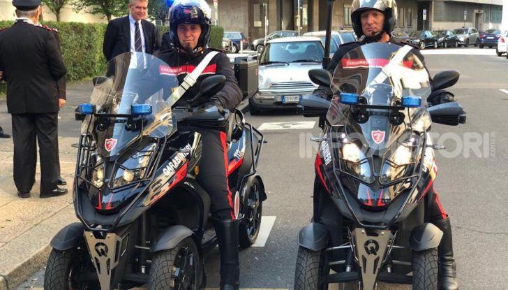 Due Qooder in regalo per i Carabinieri di Milano - Foto 1 di 5