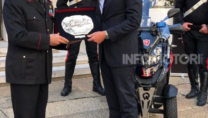 Due Qooder in regalo per i Carabinieri di Milano - Foto 3 di 5