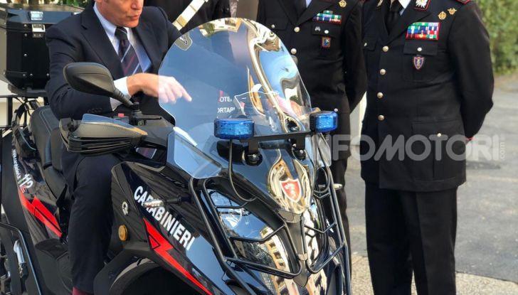 Due Qooder in regalo per i Carabinieri di Milano - Foto 4 di 5