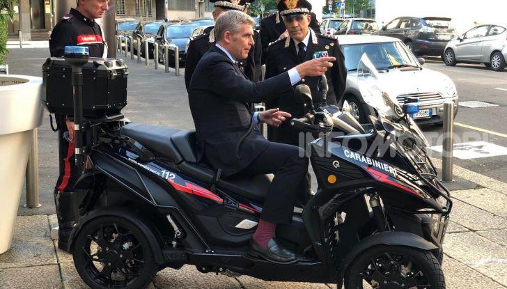 Due Qooder in regalo per i Carabinieri di Milano - Foto 5 di 5