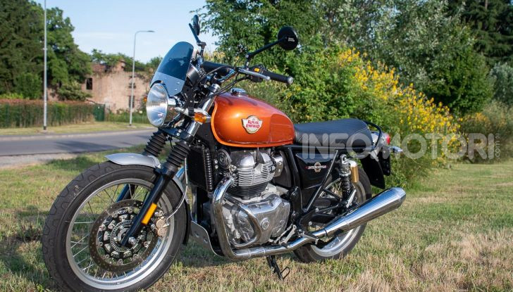 Royal Enfield Interceptor 650 estetica