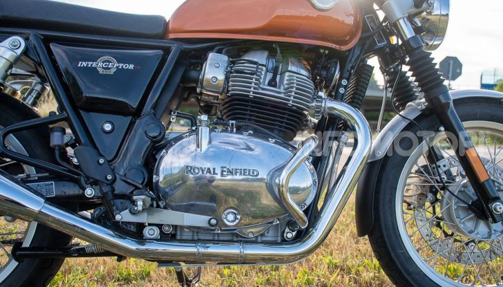 Royal Enfield Interceptor 650 motore