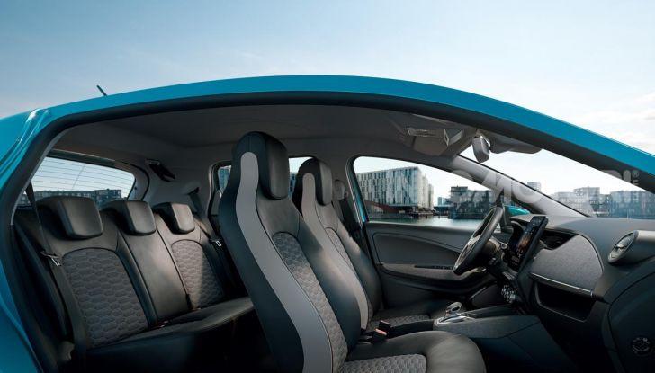 Nuova Renault ZOE 2020: autonomia, prezzo e caratteristiche - Foto 11 di 19