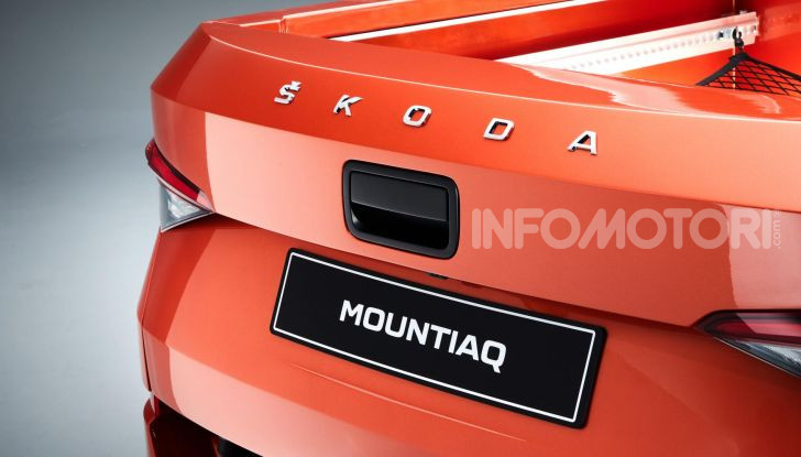 Skoda Mountiaq, pick-up con aria da SUV - Foto 3 di 10