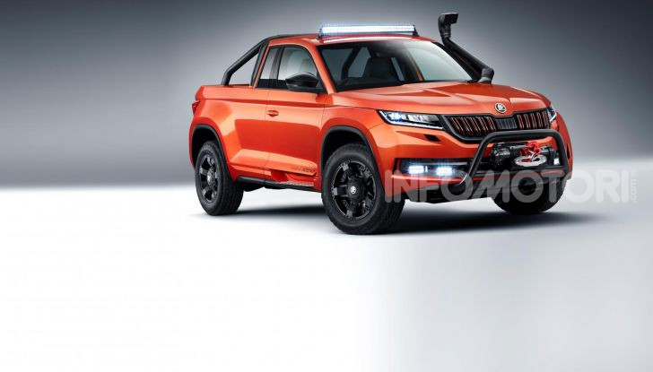 Skoda Mountiaq, pick-up con aria da SUV - Foto 1 di 10