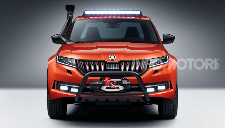 Skoda Mountiaq, pick-up con aria da SUV - Foto 10 di 10