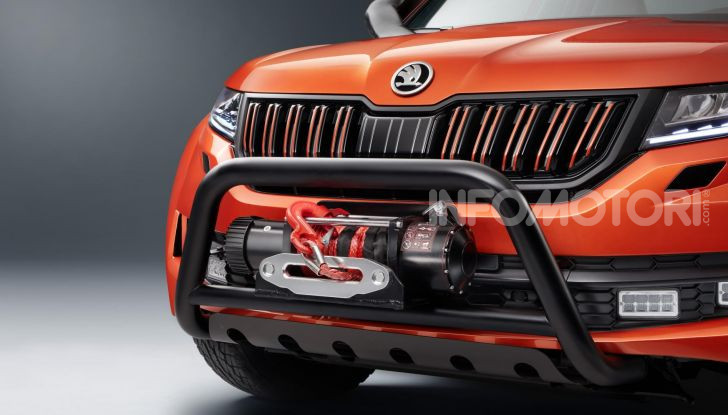 Skoda Mountiaq, pick-up con aria da SUV - Foto 4 di 10