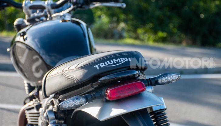Prova Triumph Speed Twin, torna al 1938 e mostra i muscoli - Foto 13 di 32