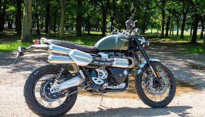 Prova Triumph Scrambler 1200 XC: modern classic dallo stile inconfondibile