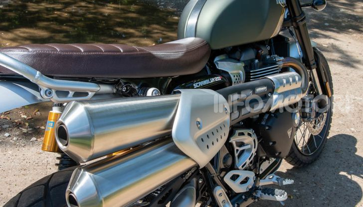 Prova Triumph Scrambler 1200 XC: modern classic dallo stile inconfondibile - Foto 5 di 48