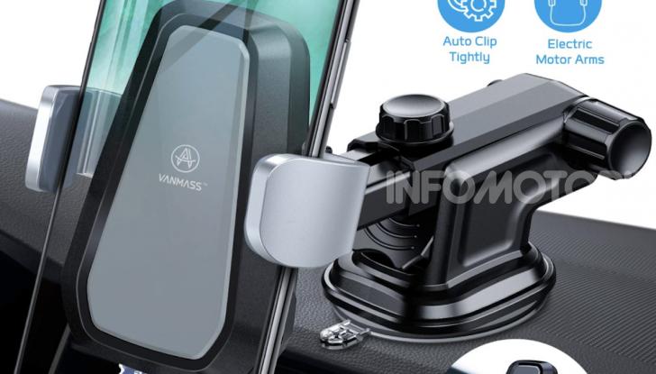 Vanmass Wireless Car Charger Mount: il supporto da auto che ricarica lo smartphone - Foto 5 di 5
